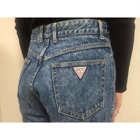 guess cut off denim
