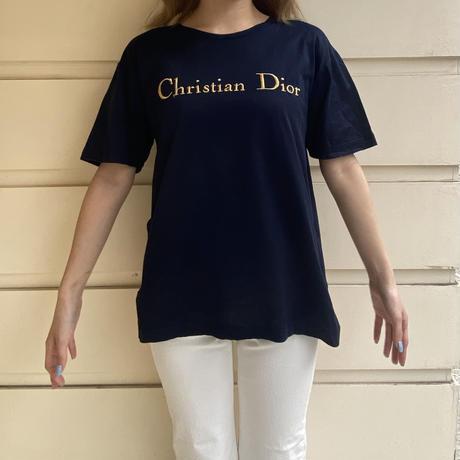 Dior logo embroidery tee (No.3463)