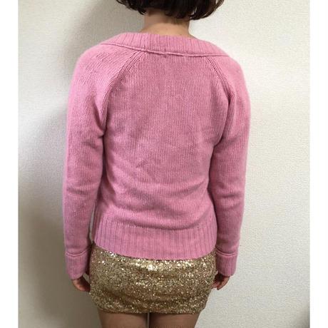 burberry knit cardigan pink