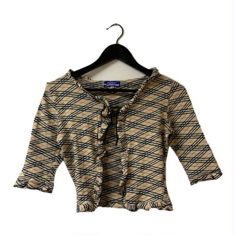 Burberry check design bolero(No.3161)