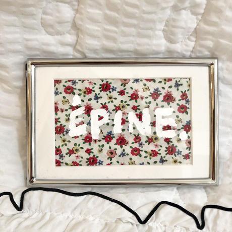 ÉPINE flower ART