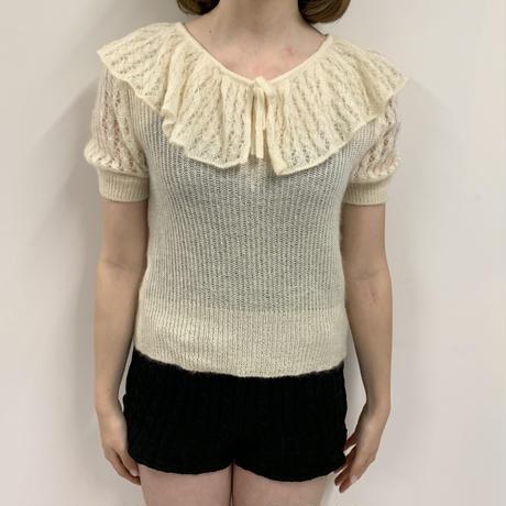 Christian Dior collar design knit(No.3189)