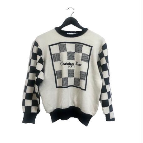 Dior monotone design knit