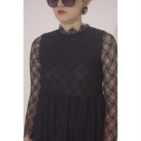lace design one-piece