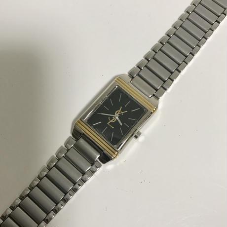 YSL big logo square Watch