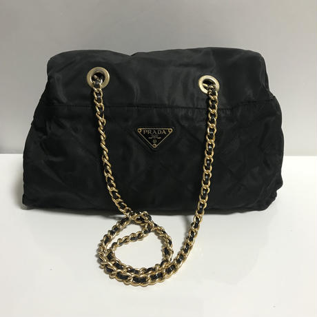 PRADA nylon chain bag