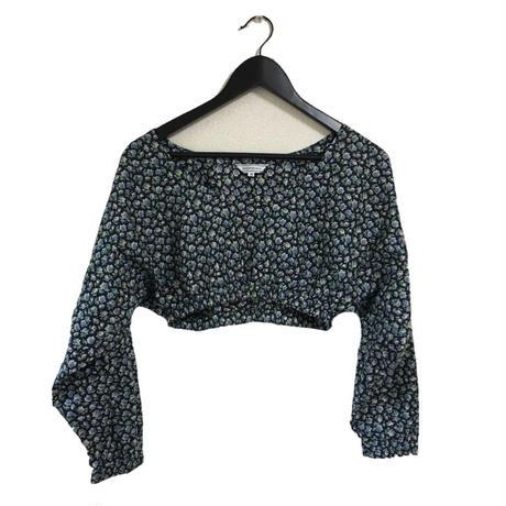 Yves Saint Laurent flower short tops
