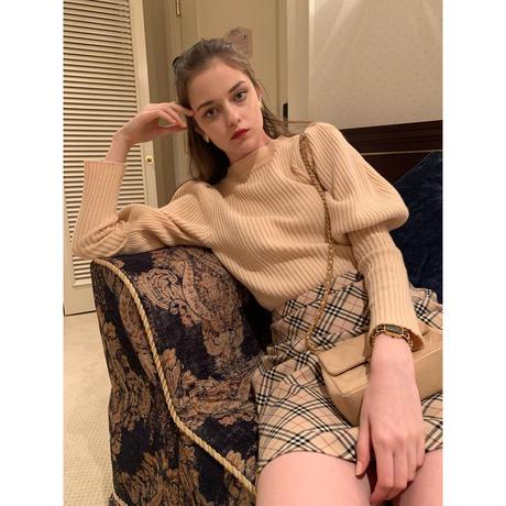 arm volume  knit beige