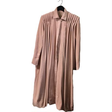 【スペシャルプライス】dasty pink velours long coat