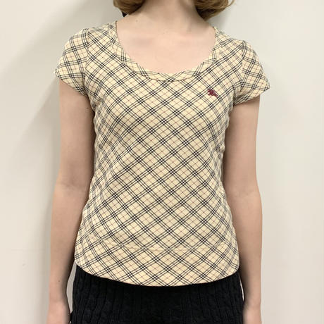 Burberry check design tee(No.2646)