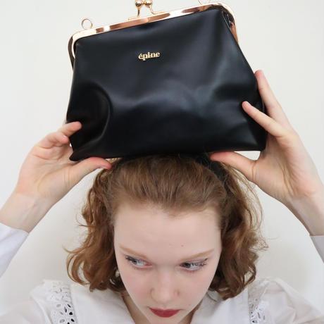 épine logo 2way bag leather