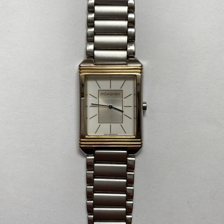 YSL square chain watch (No.4438)