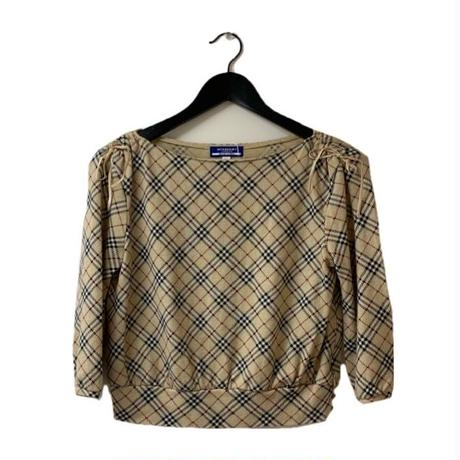 Burberry  check design ribbon tops(No.3249)