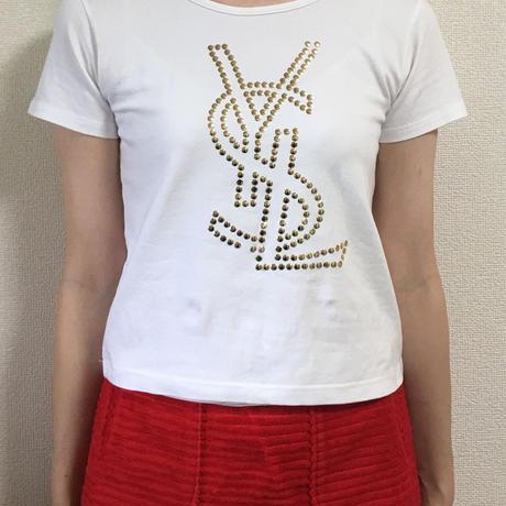 YSL logo design tee