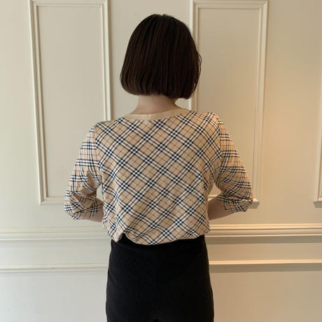 Burberry check design tops(No.3865