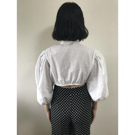 arm volume short blouse