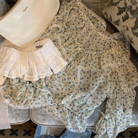 lace frill belt