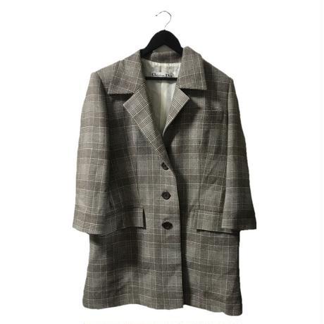 【スペシャルプライス】Dior check wool coat