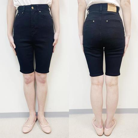épine jeans high-waist half pants