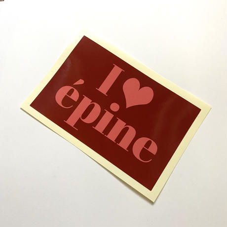I❤︎épine sticker red