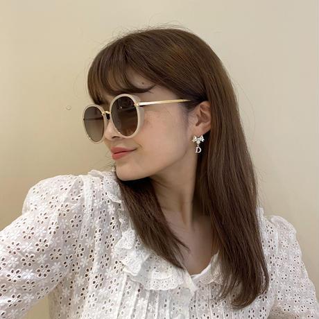 Dior ribbon stone pierce (No.4469)