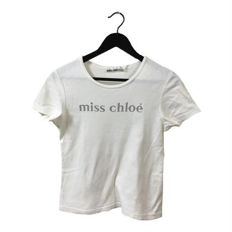 Chloé logo tee white