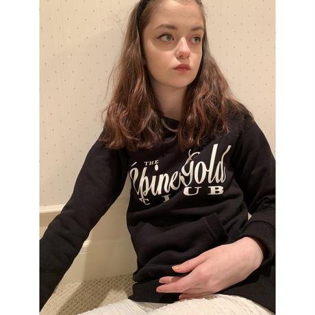 épine gold club hoodie black
