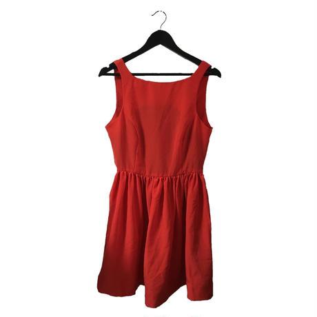mini one-piece red
