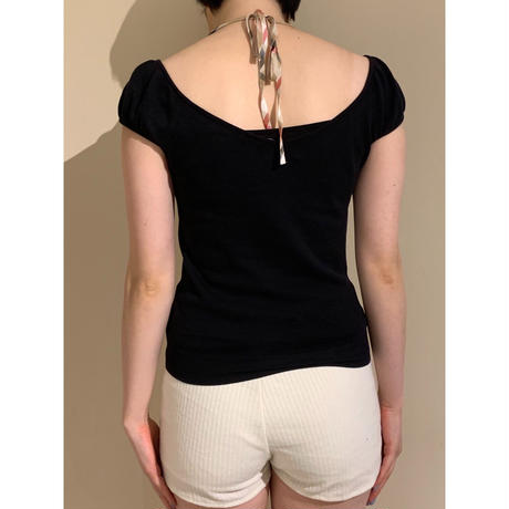 Burberry back ribbon style tops(no.3000)