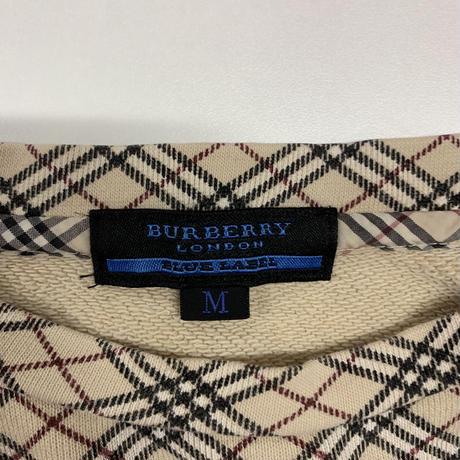 Burberry  check design sweat(No.3300)