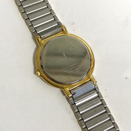 YSL logo design Watch