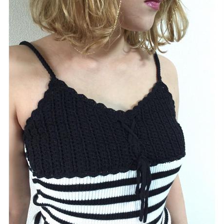 knit border camisole