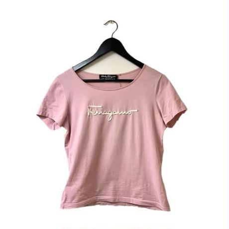 Salvatore Ferragamo logo ribbon design tops(No.2952)