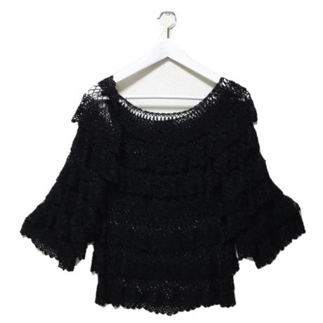 net knit tops