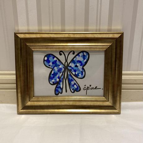 épine butterfly design ART