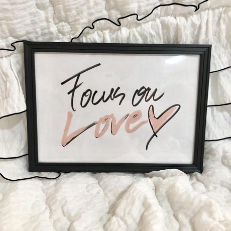 """Focus on Love"" ART"