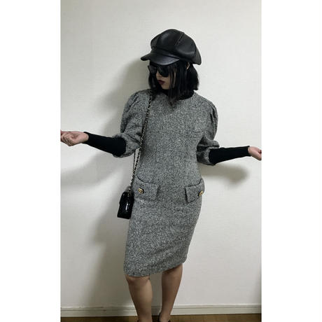 tweed design one-piece