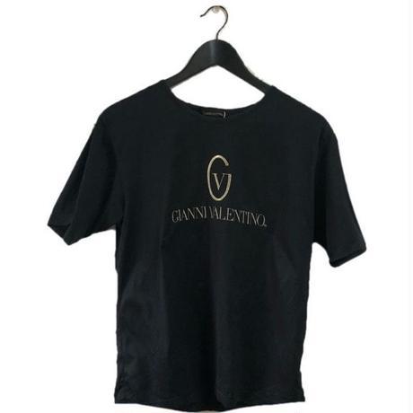 GIANNY VALENTINO embroidery tee black