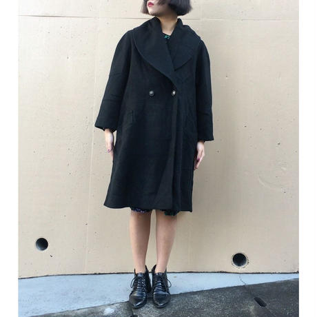 cape design black coat