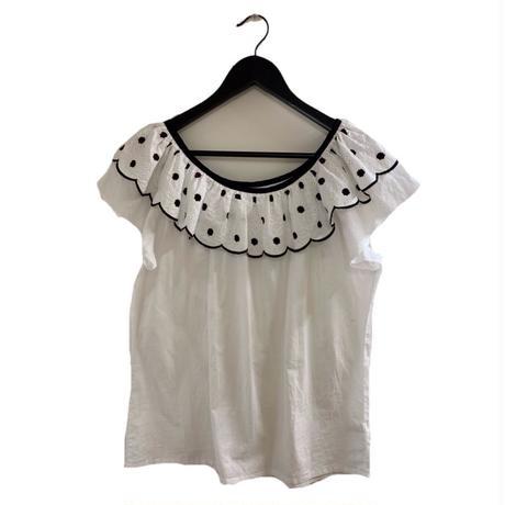 Christian Dior flower collar design tops (No.3372)