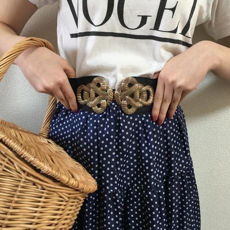 gold buckle design gom belt