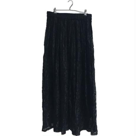 lace design skirt