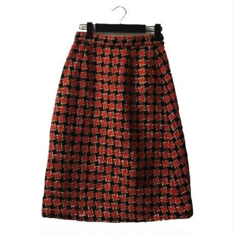 【スペシャルプライス】tweed check skirt