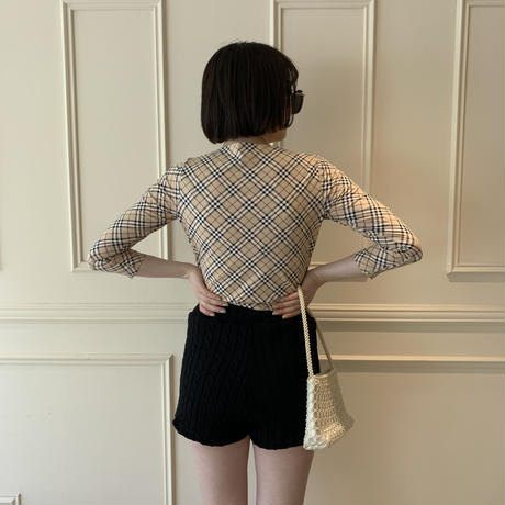 Burberry check design tops(No.3461)