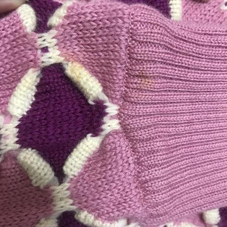 Dior design pink knit