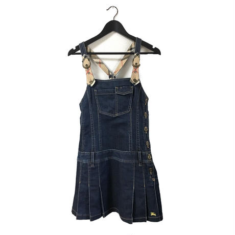 Burberry denim jumper skirt