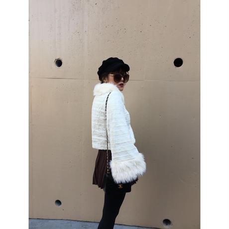【スペシャルプライス】fur coat white