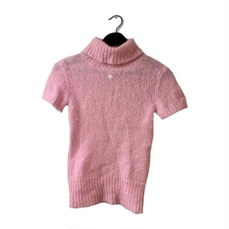 courréges high neck tops pink(No.3242)