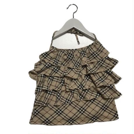 Burberry frill check camisole