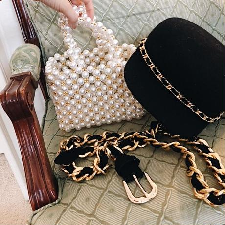 pearl mini bag